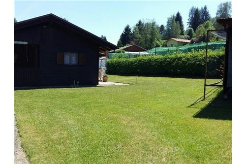 Gartenhaus-Einfahrt