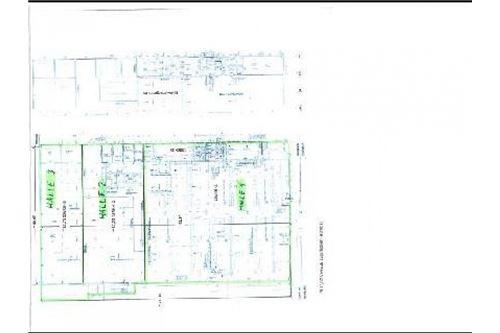 Grundrissplan Halle 1 und Halle 2