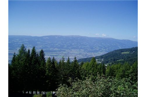 Baugrund / Aussicht - Wolfsberg