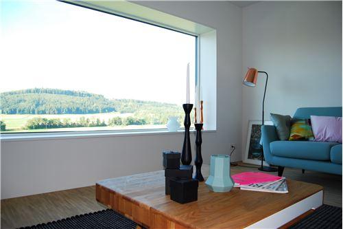Wohnzimmer mit Aussicht