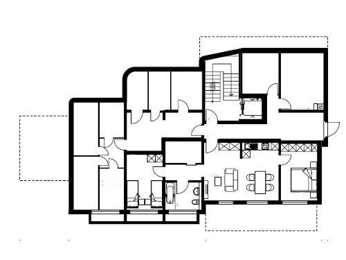 Erdgeschoss - 3,5- Zimmerwohnung & Keller