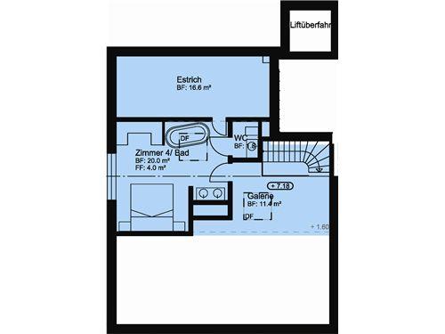 Wohnung Nr. 5 WEST / DG