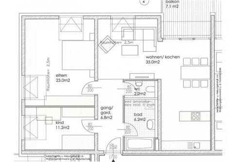 Küche Frontansicht