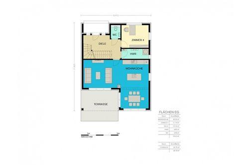 Haus Greenland Plan EG
