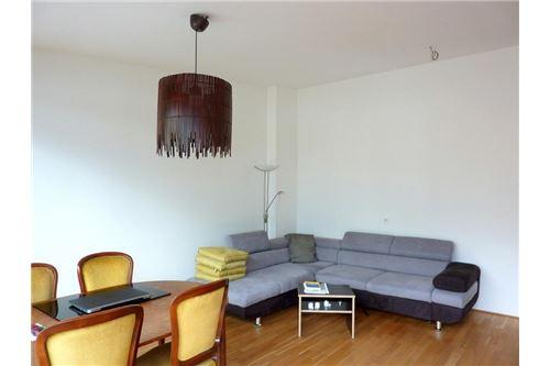 ca. 33 m² großer, heller Wohnraum