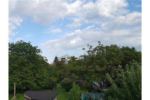 Blick von der Terrasse im Dachgeschoß