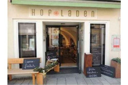 Auslage Hofladen
