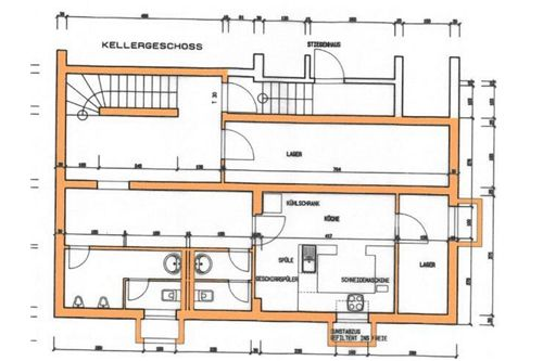 Plan Untergeschoss