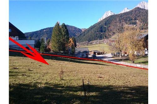 Lage Grundstück-Blick Dachstein