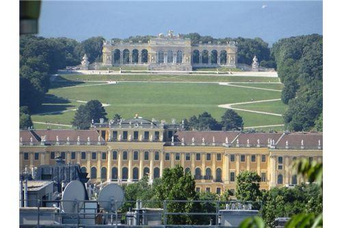 Blick nach Schönbrunn