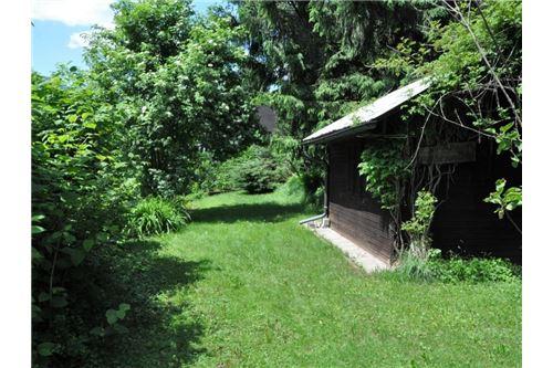 Gartenhütte mit ebener Grundfläche