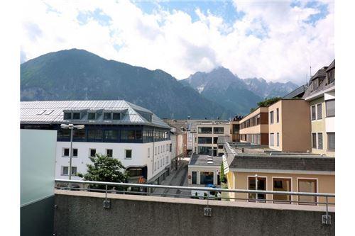 Blick von der Dachterrasse Richtung Süden