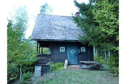 Eingang Holzhaus