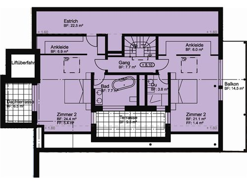 Wohnung Nr. 6 OST / DG