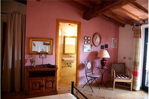 Zimmer im Gästehaus Casa Amadeo