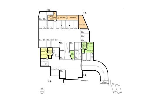 Einstellhalle - Haus Madrisa