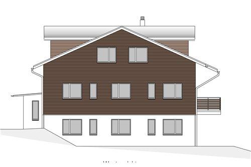 Westansicht - Haus Dorfblick
