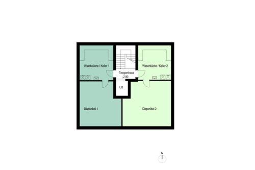 Untergeschoss - Haus Dorfblick