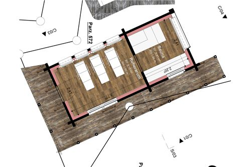 Grundriss Nebengebäude 2