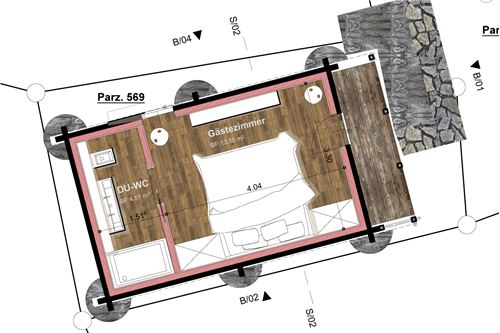 Plan Nebengebäude 1