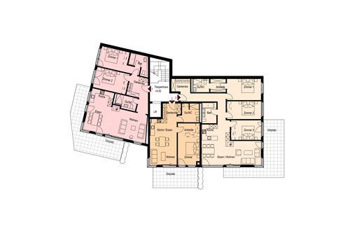 Erdgeschoss - Haus Madrisa