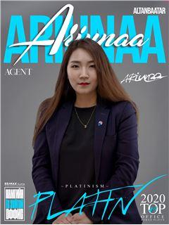 Ariunaa Altanbaatar - RE/MAX PLATIN