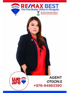 Otgon Soronzonbold - RE/MAX BEST