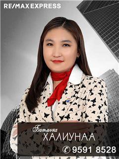 Khaliunaa Batmunkh - RE/MAX Express
