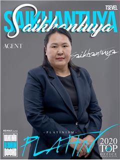 Saikhantuya Tsevel - RE/MAX PLATIN