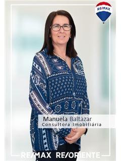 Manuela Baltazar - Membro de Equipa Nuno Miguel Olival - RE/MAX - ReOriente