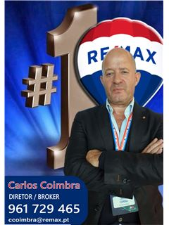 가맹점주 - Carlos Coimbra - Broker/Diretor - RE/MAX - Magistral