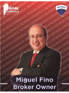 Broker/Owner - Miguel Fino - Broker Owner - RE/MAX - Dinâmica
