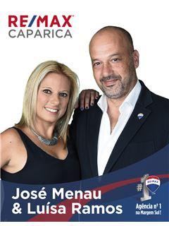 José Carlos Menau e Luísa Ramos - RE/MAX - Caparica