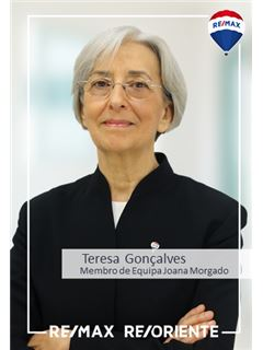 Teresa Gonçalves - Membro de Equipa Joana Morgado - RE/MAX - ReOriente