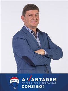 Broker/Owner - Manuel Crispim - RE/MAX - Vantagem Tagus