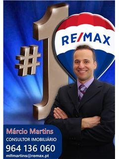Márcio Martins - Membro de Equipa Miguel Domingues - RE/MAX - Magistral 4