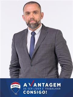 Kontorsägare & Aukt. Fastighetsmäklare - Bruno Jorge - RE/MAX - Vantagem Tagus