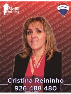 Cristina Reininho - Equipa Anabela Sousa e Cristina Reininho - RE/MAX - Dinâmica