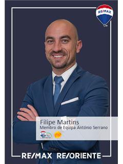 Filipe Martins - Membro de Equipa António Serrano - RE/MAX - ReOriente
