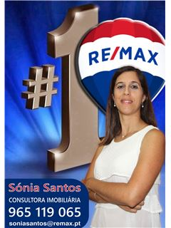 Sónia Santos - Equipa Pedro Gonçalves - RE/MAX - Magistral 3