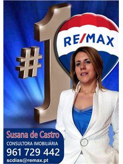 Susana de Castro - Chefe de Equipa Susana de Castro - RE/MAX - Magistral