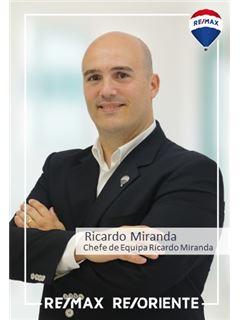 Ricardo Miranda - Chefe de Equipa Ricardo Miranda - RE/MAX - ReOriente