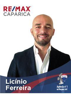 Licínio Ferreira - Membro de Equipa Carla Cordeiro - RE/MAX - Caparica