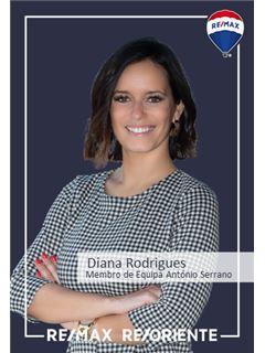 Diana Rodrigues - Membro de Equipa António Serrano - RE/MAX - ReOriente