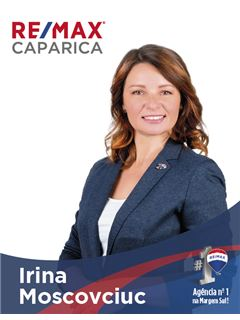 Irina Moscovciuc - Membro de Equipa Cristina Cardoso - RE/MAX - Caparica