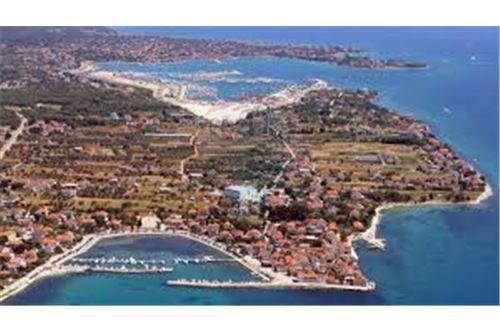 Pogled mjesta Bibinja iz zraka