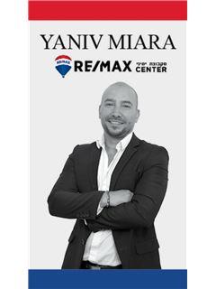 יניב מיארה Yaniv Miara - רי/מקס סנטר - RE/MAX CENTER