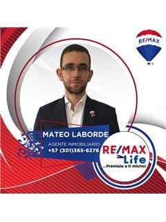 Agente Inmobiliario - Mateo Laborde Gonzalez - RE/MAX Life