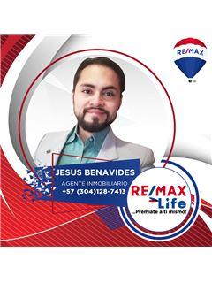 Agente Inmobiliario - Jesus David Benavides Moreno - RE/MAX Life