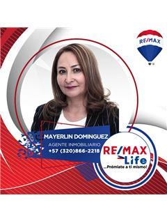 Agente Inmobiliario - Mayerlin Domínguez Robayo - RE/MAX Life